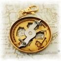 Mariners Astrolabe Geocoin - Antique Bronze