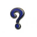 Mystery Icon Micro Geocoin - Nickel