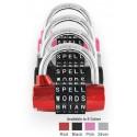 5 Dial Indoor Lock - WordLock