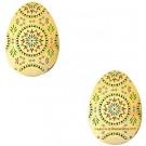 Happy Eggster Geocoin- Gold