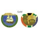 Cape Town Mega 2016 Geocoin - Gold
