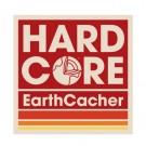 HardCore EarthCacher Sticker